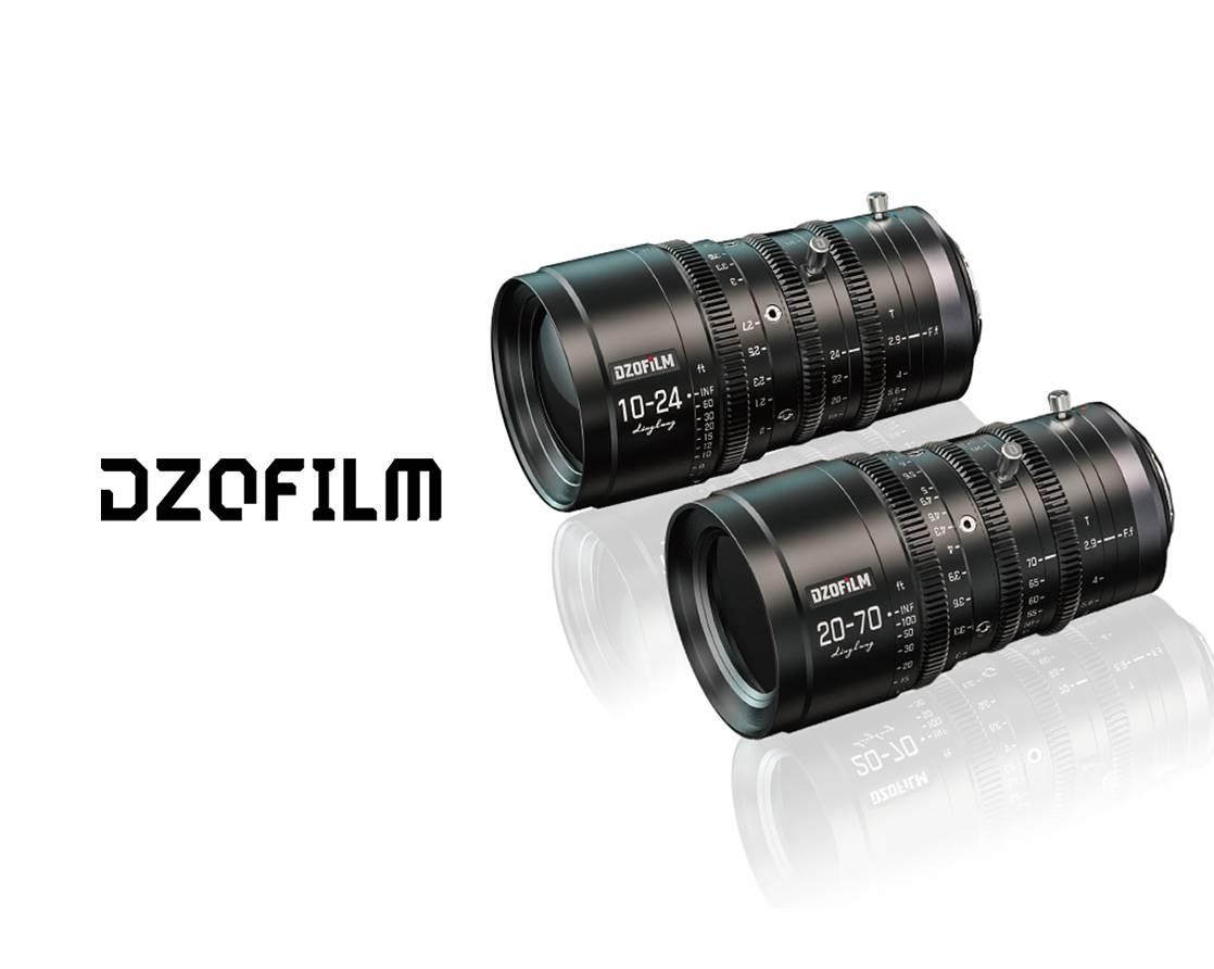 【电影镜头】东正光学 DZOFilm 10-24mm、20-70mm 双镜头套装